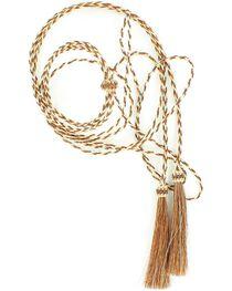 Tan & White Horsehair Stampede String, , hi-res