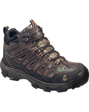 Nautilus Men's Camo Waterproof HIker Work Boots - Steel Toe , Camouflage, hi-res