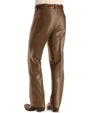 Circle S Men's Swedish Knit Dress Ranch Pants, Brown, hi-res