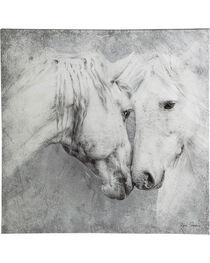 Evergreen Meeting Horses Indoor Wall Canvas , , hi-res