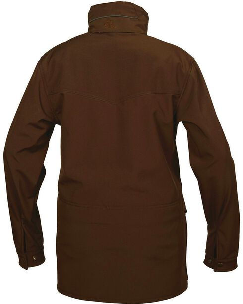 STS Ranchwear Women's Brazos Softshell Barn Jacket, Brown, hi-res