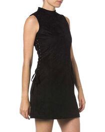Miss Me Women's Lace-up High Neck Dress, , hi-res