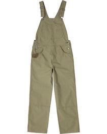 Wrangler Men's Brown Riggs Workwear Ripstop Bib Overalls , , hi-res