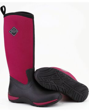 Muck Boots Maroon Arctic Adventure Boots, Maroon, hi-res