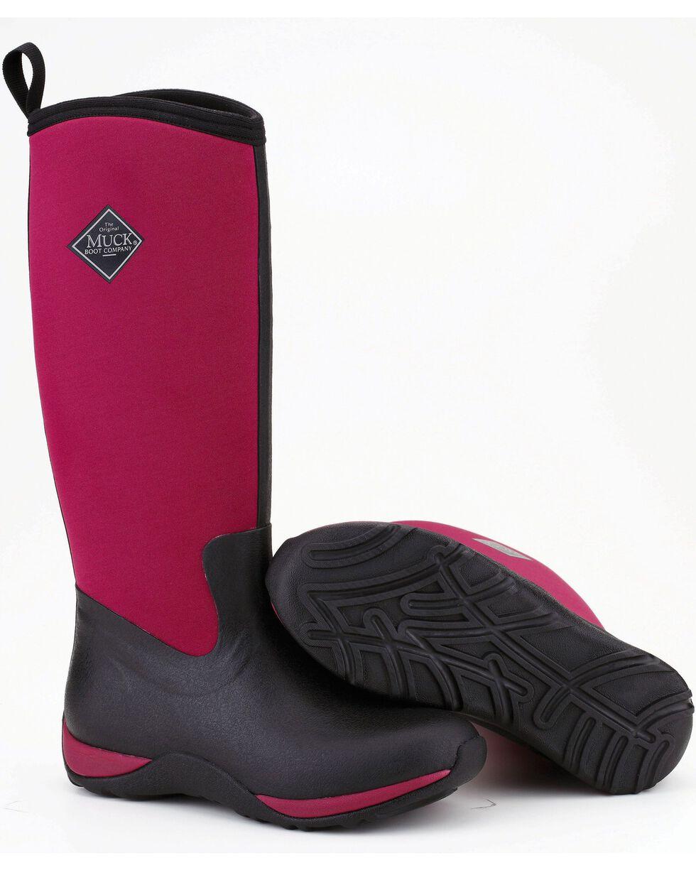 Muck Boots Women's Maroon Arctic Adventure Boots, Maroon, hi-res