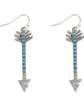 Shyanne® Women's Arrow Earrings, Silver, hi-res