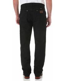 Wrangler Men's Black Premium Performance Cowboy Cut Regular Fit Jeans, , hi-res