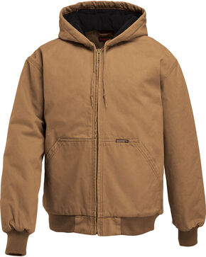 Wolverine Men's Houston Insulated Jacket, Brown, hi-res
