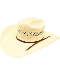 Ariat Double S 20X Straw Hat, , hi-res