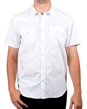 Gibson Men's Solid Short Sleeve Shirt, White, hi-res