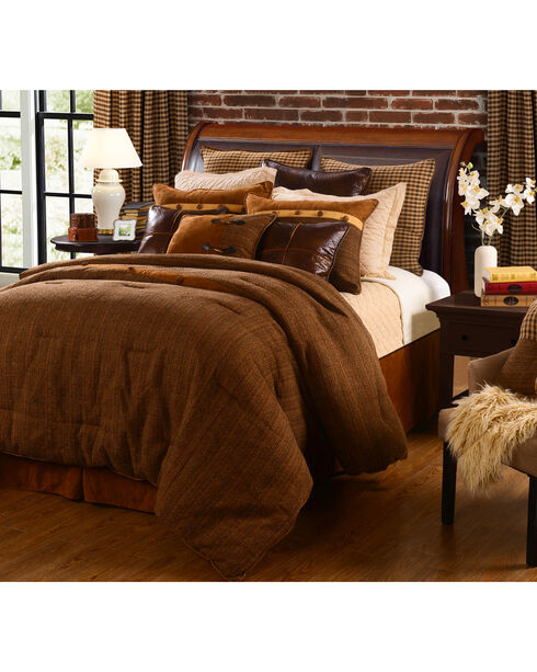 HiEnd Accents Crestwood 5-Piece Full Comforter Set, Multi, hi-res