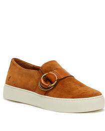 Frye Women's Nutmeg Lena Harness Slip On Shoes - Round Toe, , hi-res
