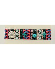 Blazin Roxx Tribal Print Fabric Headband, , hi-res