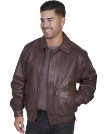 Scully Rugged Lambskin Leather Jacket, , hi-res