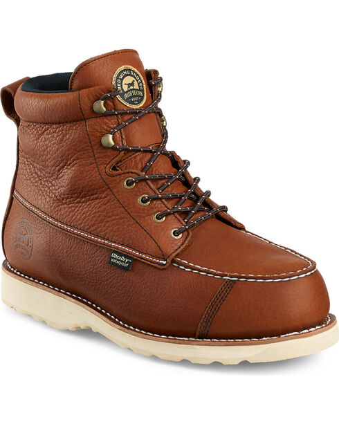 "Red Wing Irish Setter Men's Wingshooter Insulated UltraDry 7"" Boots , Light Brown, hi-res"