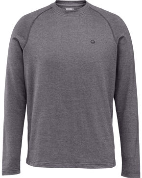 Wolverine Men's Ryder Moisture Wicking Long Sleeve Tee, Charcoal, hi-res