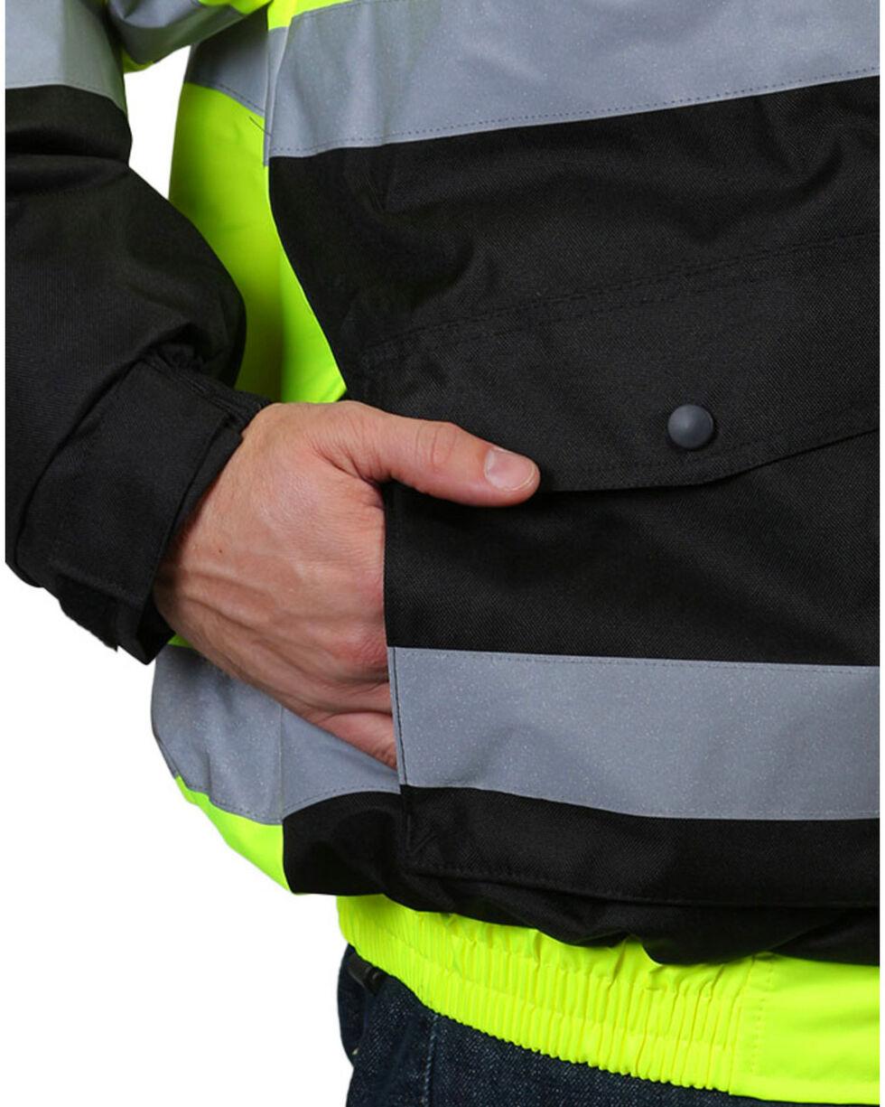American Worker Men's 3-in-1 Bomber Jacket , Yellow, hi-res