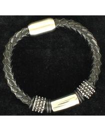 Twister Men's Large Braided Bracelet , , hi-res