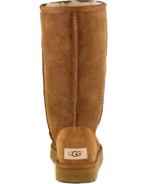 UGG® Women's Classic II Tall Boots, Chestnut, hi-res