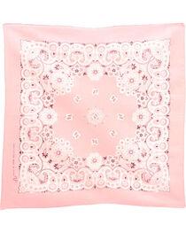 M&F Western Light Pink Western Fashion Bandanna , , hi-res