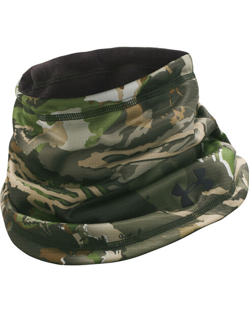 Under Armour Ridge Reaper Forest Camo Scent Control Neck Gaiter , Camouflage, hi-res