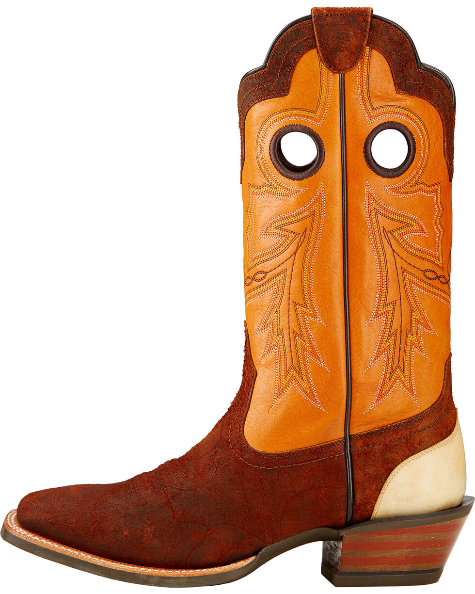 Ariat Men's Wildstock Western Boots, Brick, hi-res