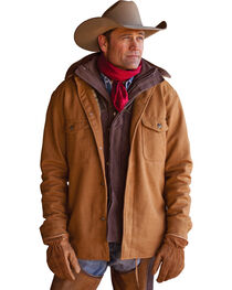 STS Ranchwear Men's Clifton Camel Wool Jacket, Camel, hi-res