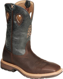 Twisted X Men's Square Steel Toe Lite Weight Work Boots, , hi-res