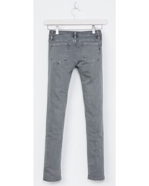 Miss Me Girls' Grey Simple Style Jeans - Skinny , Grey, hi-res