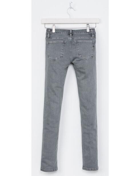 Miss Me Girls' Grey Simple Style Jeans - Skinny , Grey, hi-res