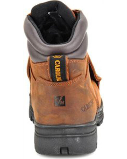 "Carolina Men's 6"" External Metguard Work Boots, Brown, hi-res"