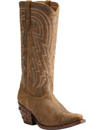 Ariat Women's Brown Diamante Western Boots - Snip Toe , , hi-res