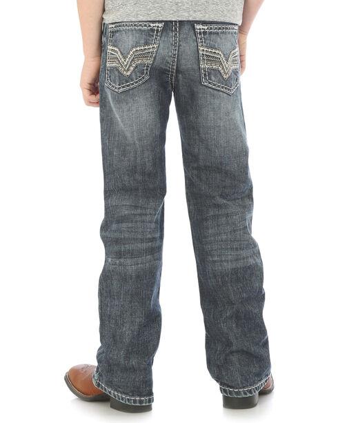 Wrangler Rock 47 Boys' Indigo Slim Fit Jeans - Husky , Indigo, hi-res