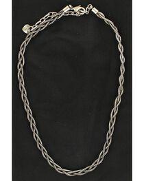 Blazin Roxx Women's Braided Snake Chain Necklace, , hi-res