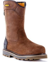 DeWalt Men's Tungsten Pull-On Waterproof Work Boots - Aluminum Toe, , hi-res