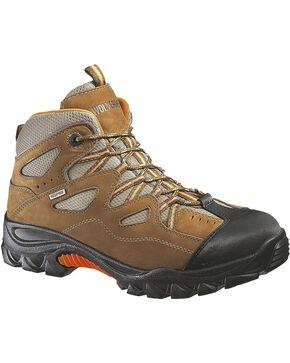 Wolverine Men's Durant Waterproof Steel Toe Work Boots, Light Brown, hi-res