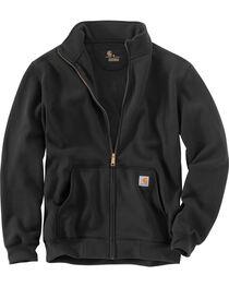 Carhartt Men's Haughton Mock Neck Zip Sweatshirt, , hi-res