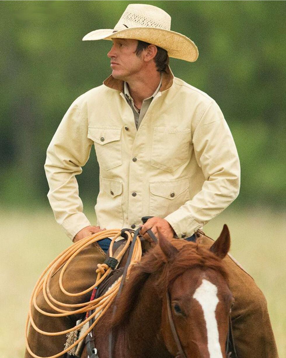 Schaefer Outfitter Men's Chamois Vintage Brush Jacket , Lt Brown, hi-res