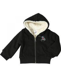 Wrangler Boys' Sherpa Lined Hooded Jacket, , hi-res