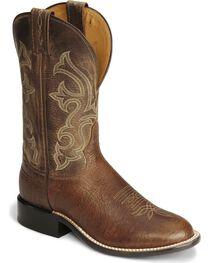 """Tony Lama Men's Americana Conquistador Round Toe 11"""" Western Boots, , hi-res"""