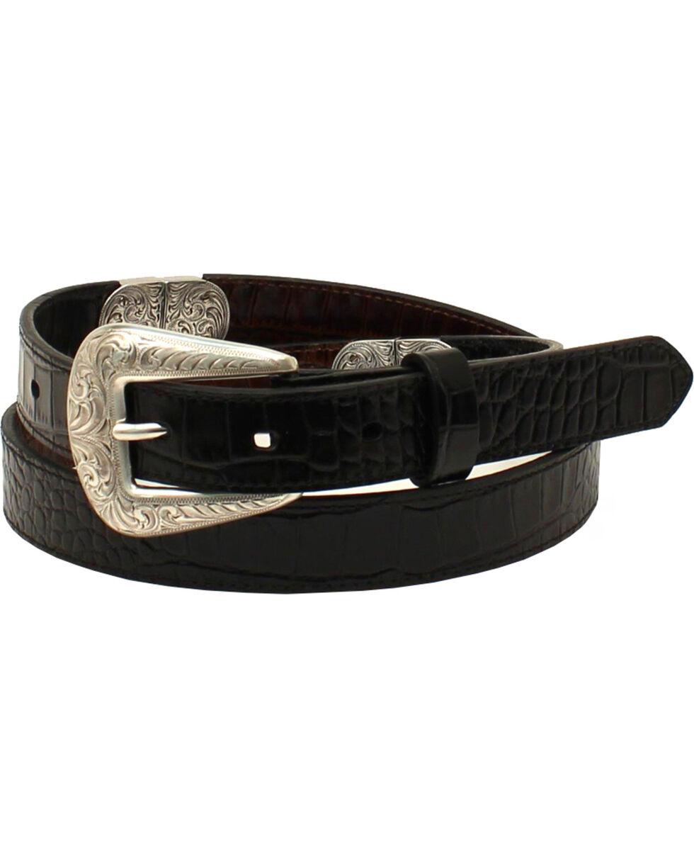 Ariat Women's Oval Concho Reversible Western Belt, Black, hi-res