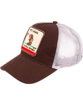 Peter Grimm Men's California Republic Ball Cap, Brown, hi-res