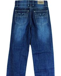 Cowboy Hardware Toddler Boys' King Steer Dark Wash Jeans (18MO-6T), , hi-res