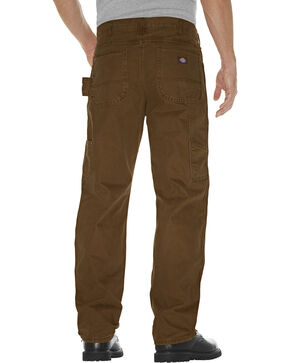 Dickies Relaxed Straight Fit Sanded Duck Double Knee Jeans - Big and Tall, Timber, hi-res