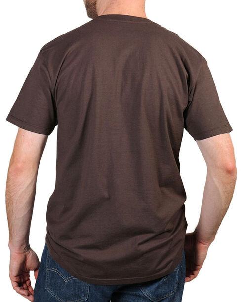Moonshine Spirit® Men's Hawkeye T-Shirt , Brown, hi-res