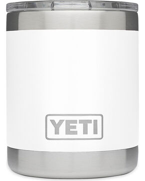 Yeti Olive Green 10 oz. Lowball Rambler , White, hi-res