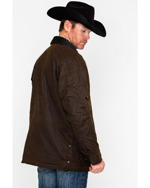 Outback Trading Men's Oilskin Deer Hunter Jacket, Bronze, hi-res