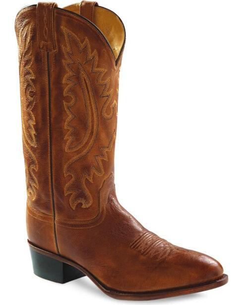 Jama Men's Western Boots, Tan, hi-res