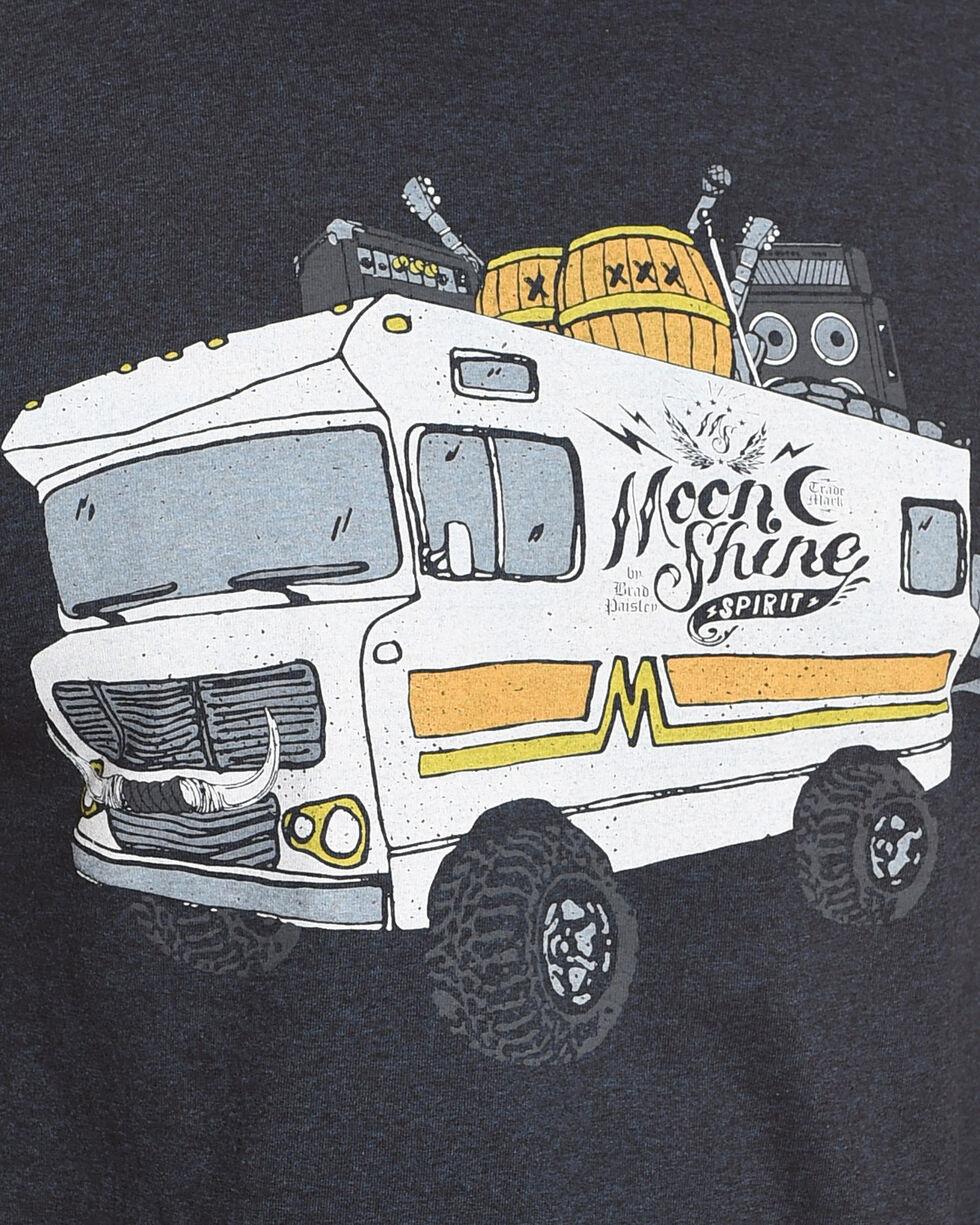 Moonshine Spirit Men's Powered Bus Tee , Navy, hi-res