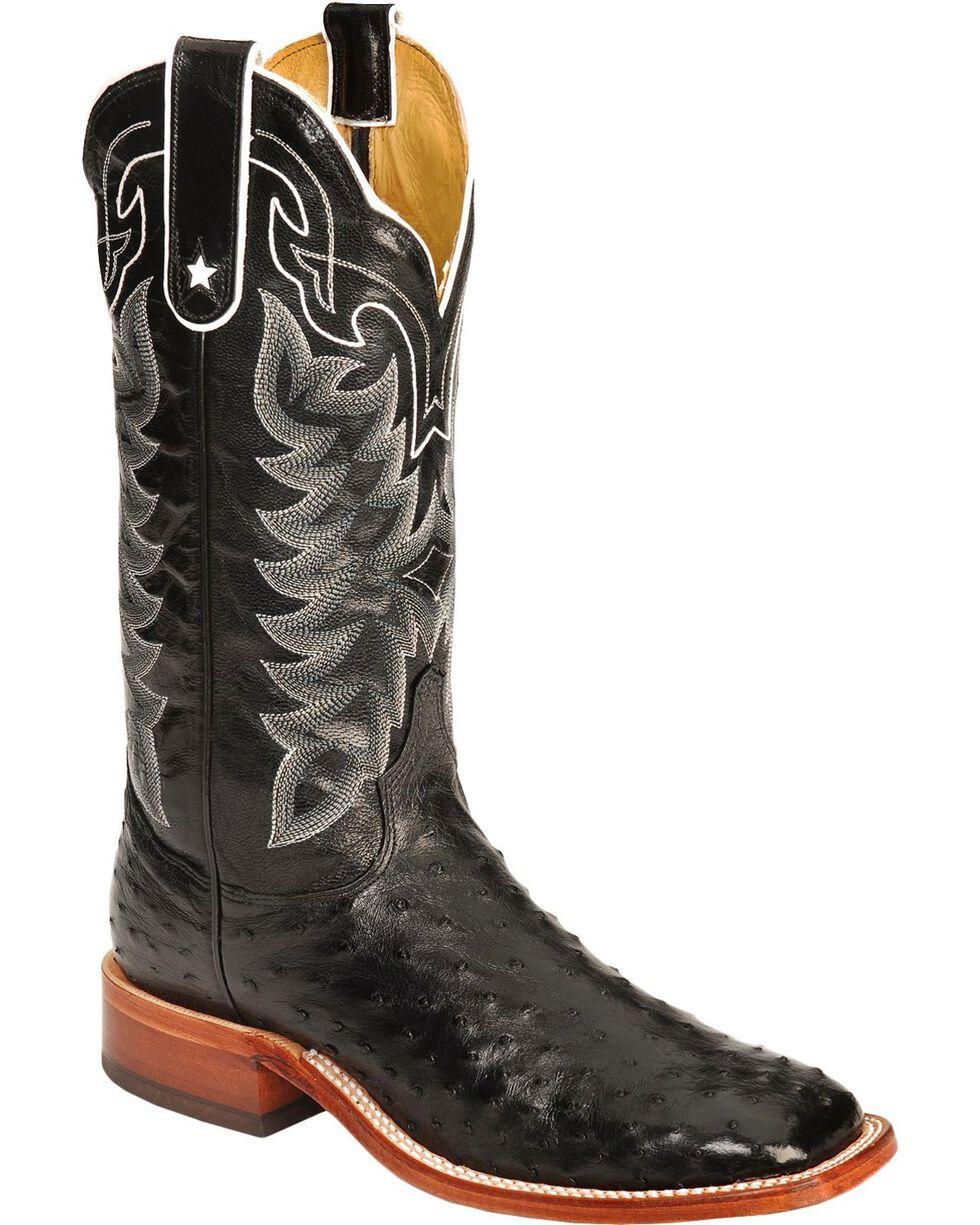 """Tony Lama Men's San Saba Full Quill Ostrich 13"""" Western Boots, , hi-res"""